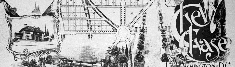 Thomas Fisher Map of Chevy Chase