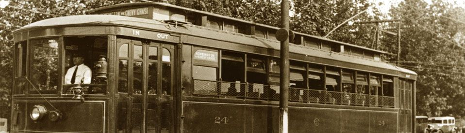 Chevy Chase Streetcar